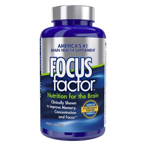 Viên Uống Bổ Não Focus Factor 150 Viên