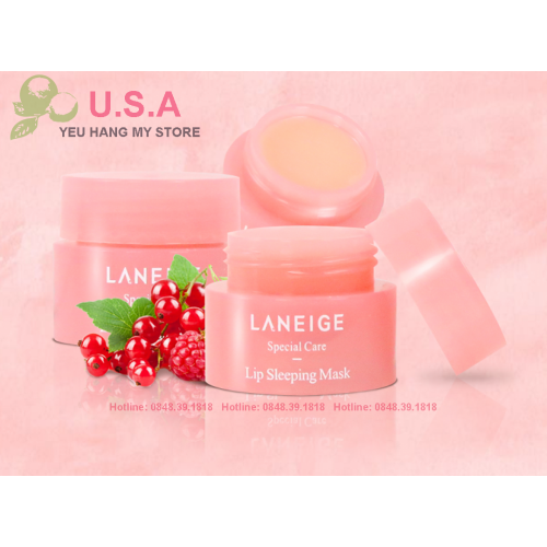 Mặt Nạ Ngủ Môi Lip Sleeping Mask Laneige Special Care
