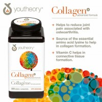 Collagen Advanced Formula Type 1, 2 & 3 390 Viên  [ USA ]