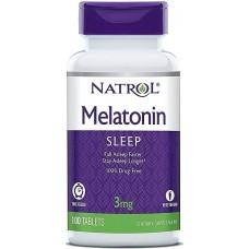 Thuốc Trị Mất Ngủ Melatonin 3mg, 5mg, 10mg Của Mỹ