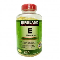 Viên Uống Vitamin E 400 IU - 500 Viên Của Kirkland Signature Mỹ