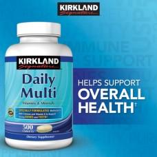 Daily Multi Vitamin Kirkland Signature 500 Viên Của Mỹ