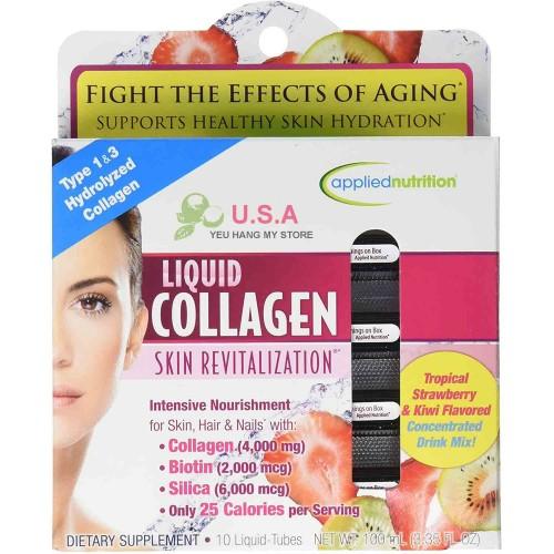 Liquid Collagen One Per Day Drink Mix 4000mg