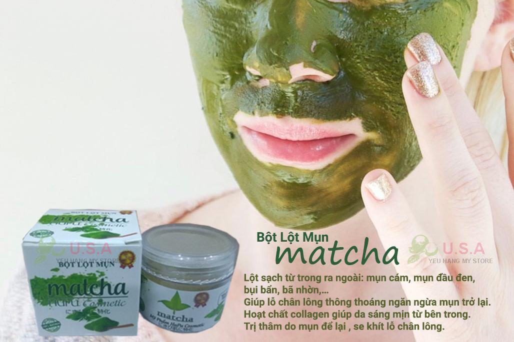 Toàn quốc - Lột Mụn Trà Xanh Matcha Hupu Cosmetic Chính Hãng Mat-na-tra-xanh-tri-mun-02