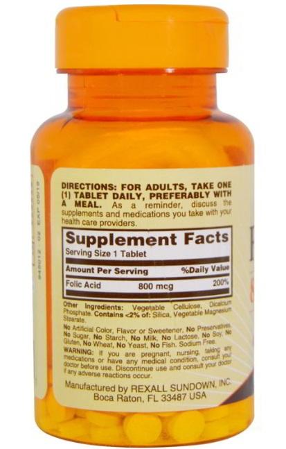 Toàn quốc - Viên uống vitamin Hỗ Trợ Mọc Râu tóc - Folic Acid 800 mcg Thuoc-duong-rau-folic-acid-2